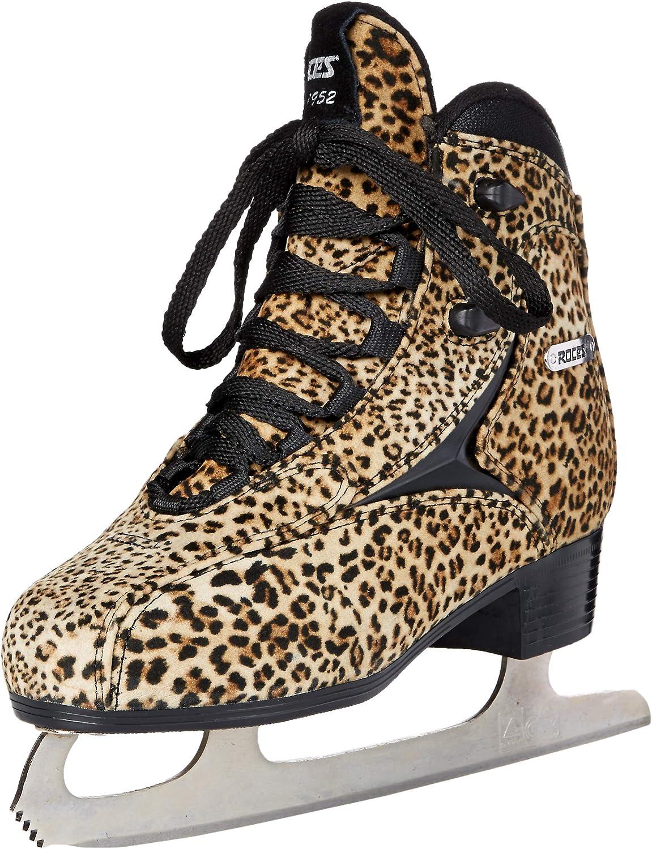 Roces Womens Ice Skate Pardus Light Brown Black 450650-00001