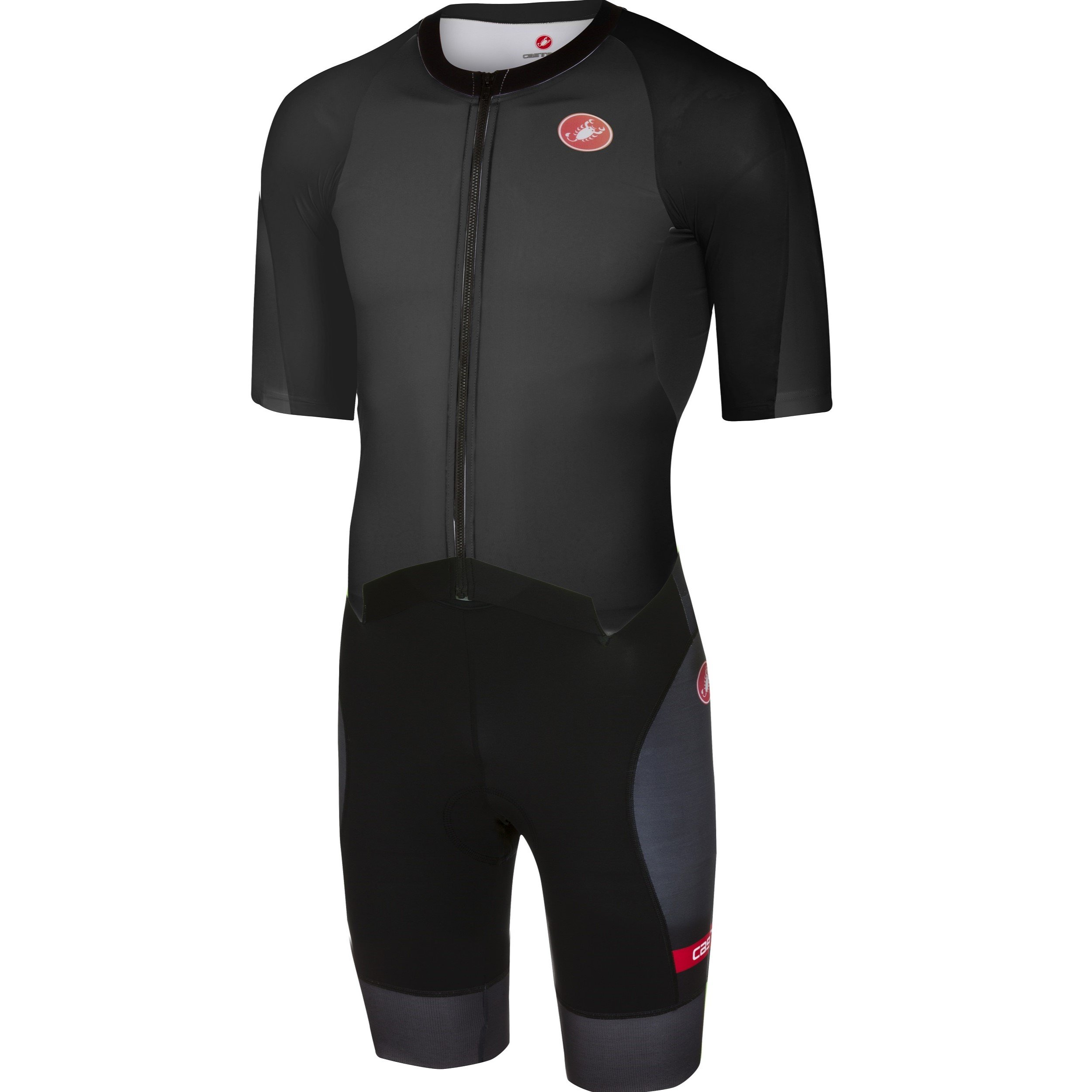 Castelli Men's All Out Speed Tri Suit (Black, Small)