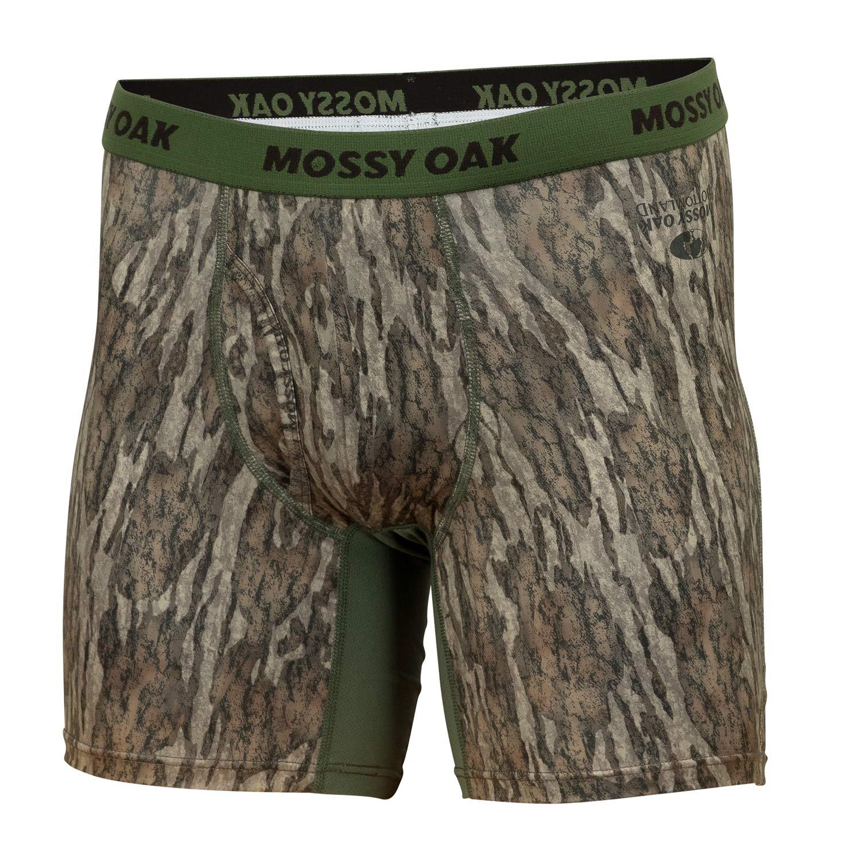 Mossy Oak Camo Boxer Brief Underwear for Men
