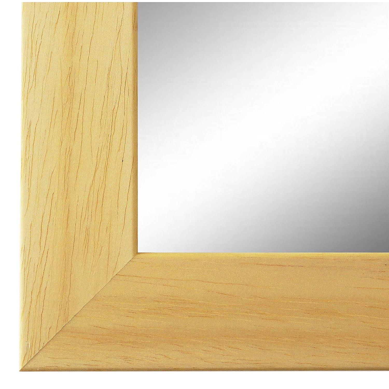 Online Galerie Bingold Spiegel Wandspiegel Braun 50 x 120 cm - Modern, Retro, Vintage - Alle Größen - Made in Germany - AM - Florenz 4,0