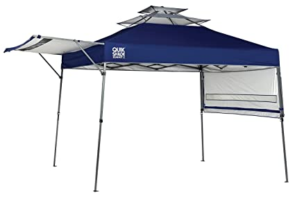 Quik Shade Summit  Foot Instant Canopy With Adjustable Dual Half Awnings