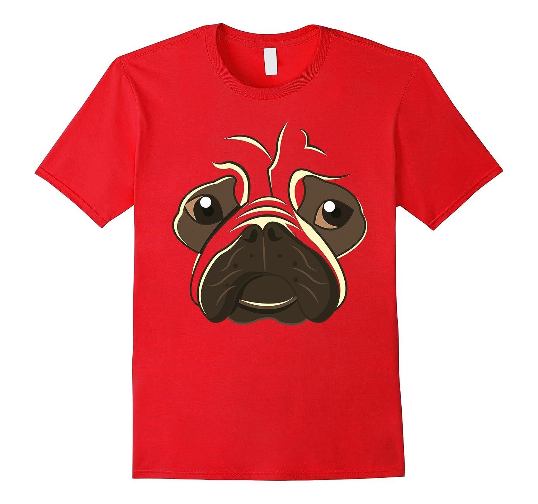 French Bulldog Emoji Funny Face Dog Halloween Costume Shirt-AZP