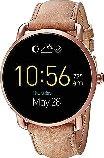 8e4636c3d1b3 Amazon.com  Fossil Q Founder Gen 2 White Silicone Touchscreen ...