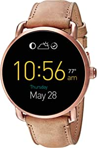 Fossil Q Wander Leather Touchscreen Smartwatch FTW2102