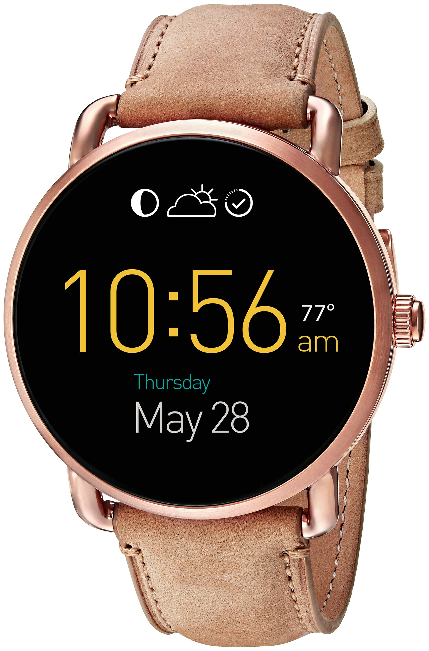 Fossil Q Wander Gen 2 Light Brown Leather Touchscreen Smartwatch FTW2102 by Fossil (Image #1)