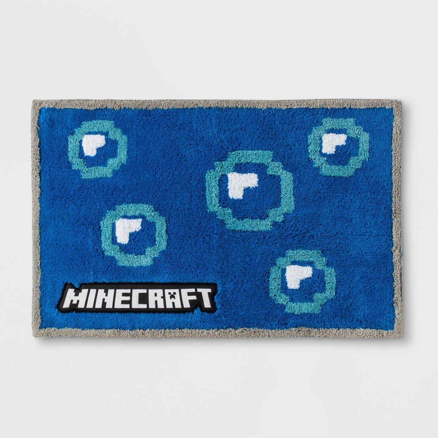 Minecraft Bath Rug
