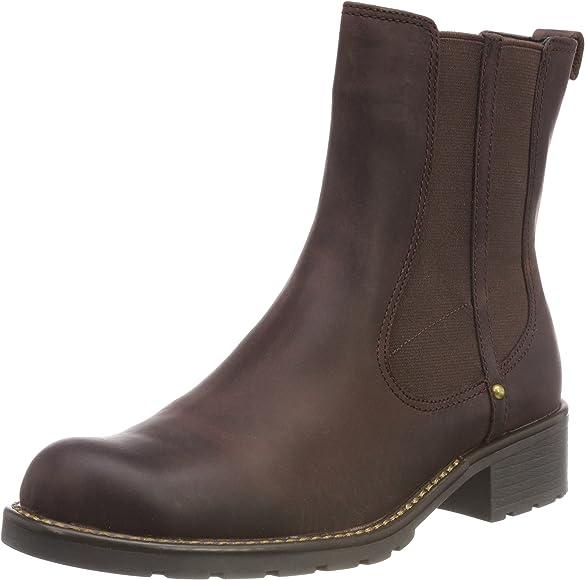 Clarks Orinoco Club Women S Boots Red Burgundy Leather 3 Uk 35 5 Eu Amazon Co Uk Shoes Bags