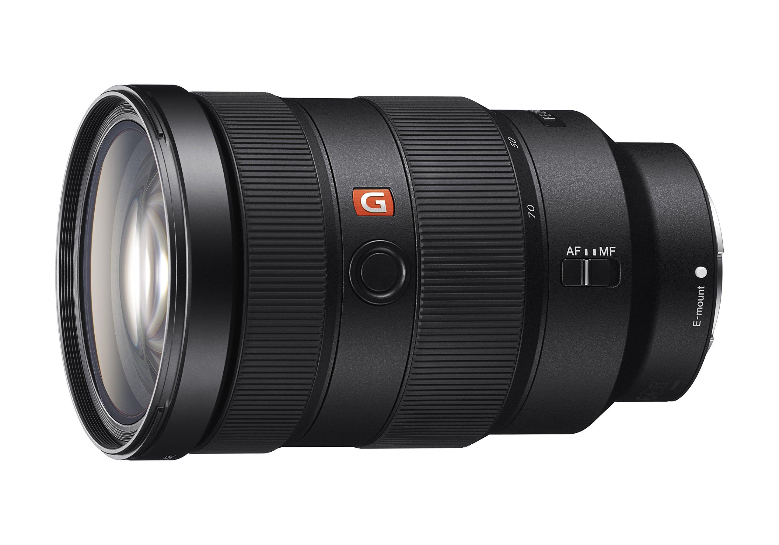Sony SEL2470GM E-Mount Camera Lens: FE 24-70 mm F2.8 G Master Full Frame Standard Zoom Lens by Sony
