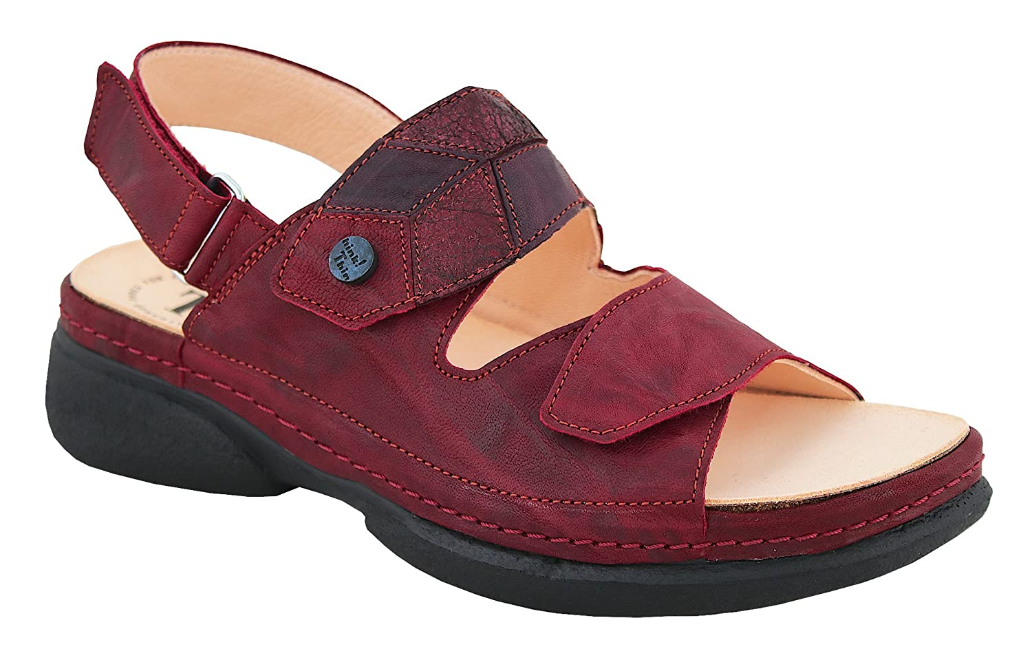 Think! 81403-72 Damen Sandale CAMBIO 81403-72 Think! Rosso/Kombi - 9c284a
