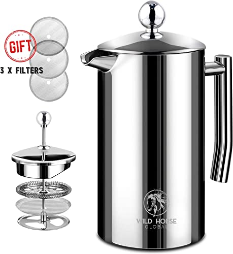 Wild Horse Global French Press Coffee Maker