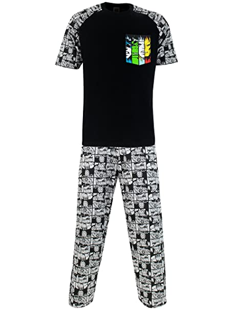 Marvel Pijama para Hombre - Avengers yL5zEc6w