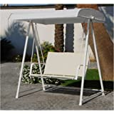 My_Garden M0515-08 Dondolo Sand Dune, Bianco