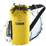 TEBRION 10L / 10L + 20L Premium 100% Waterproof Dry Bag Thick & Lightweight - Roll Top Sack Keep Gear Dry and Safe Perfect fo