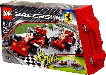 Lego Racers 8123 Ferrari F1 Racers Amazon De Spielzeug