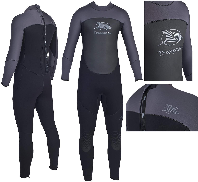 Trespass Diver Mens 5mm Full Body Surfing Kiteboarding Sailing Neoprene Wetsuit