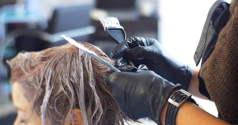 9-10 Negro Safe Fit Trabajo Ligero Guantes de nitrilo XL HYGONORM 200x Guantes Desechables Sin Polvo Sin Latex Grado M/édico AQL 1,5 Limpieza Jardiner/ía Tatuando Pintura