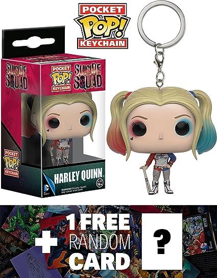 Keychain: Marvel DC Vinyl Fig Keychain New Toy Funko Pocket Pop Superman