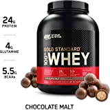 Optimum Nutrition Gold Standard 100% Whey Protein Isolate Powder, Chocolate Malt, 5 Pound