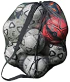 Mesh Ball Bag With Shoulder Strap. 30 x 40 Inches with a Drawstring Closure.