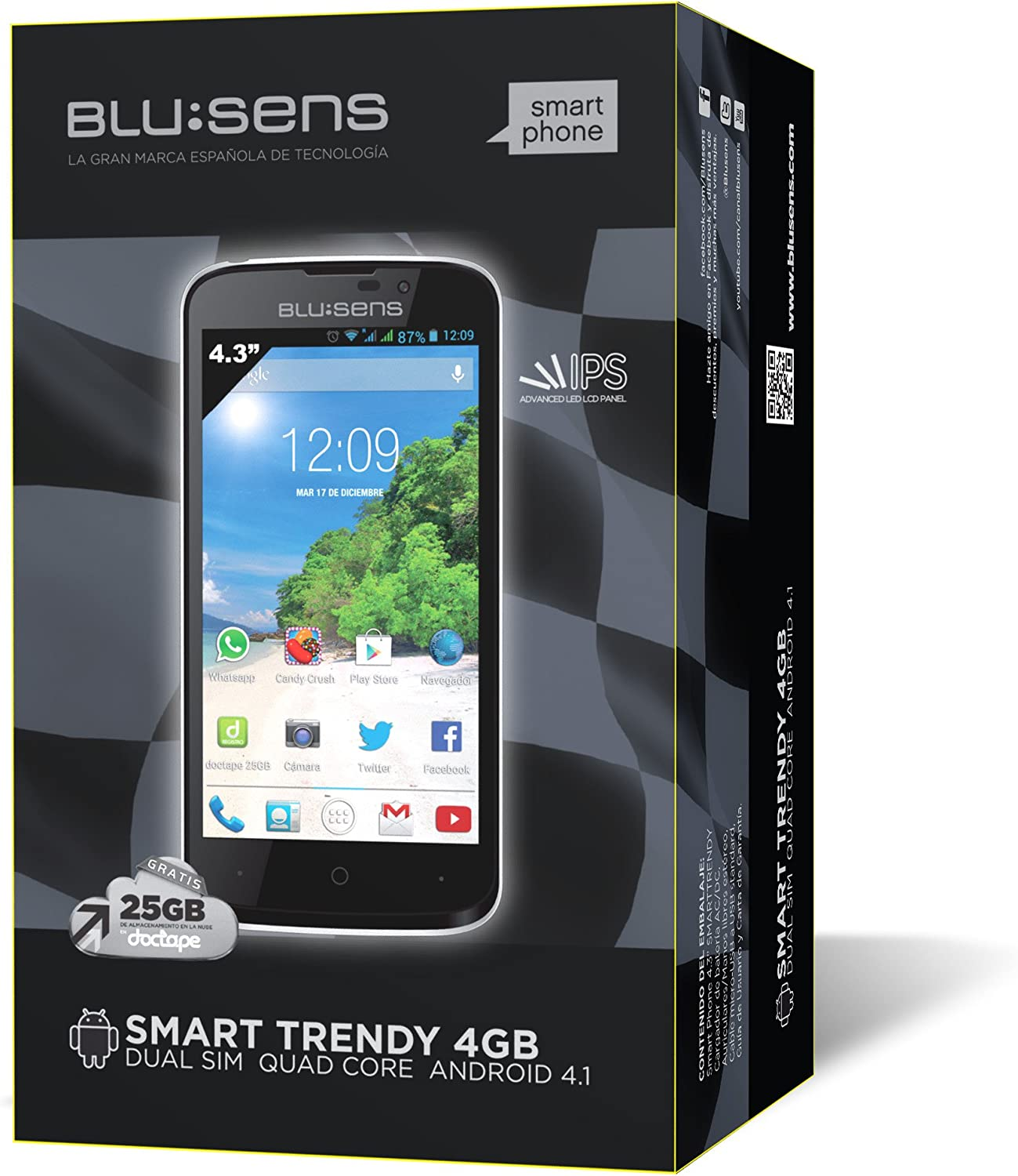Blusens Smart Trendy 10,9 cm (4.3