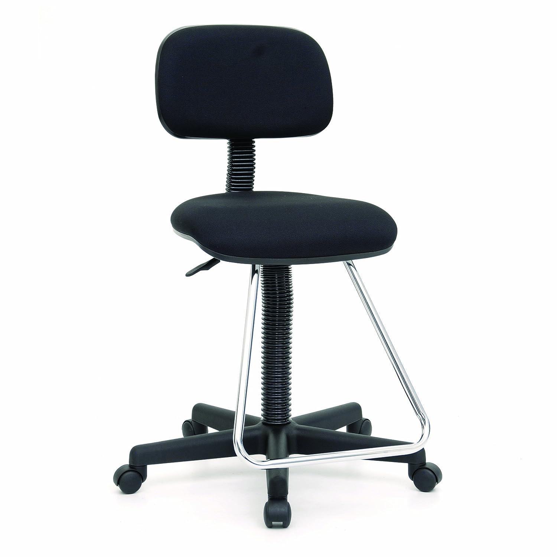 Amazon Studio Designs Maxima II Drafting Chair in Black