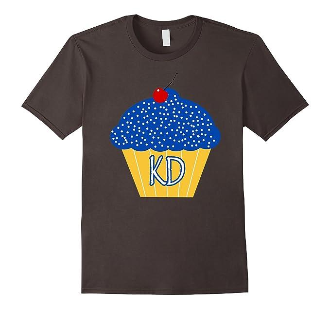 Mens KD Cupcake T Shirt 2XL Asphalt