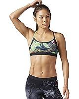 Reebok Women's LTHS Reebok Crossfit Skinny Strap Bra