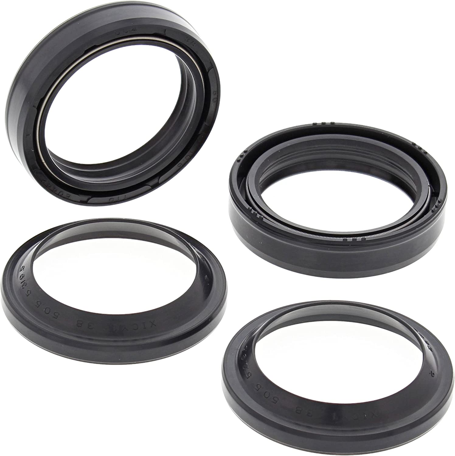 ALL BALLS FORK OIL /& DUST SEAL KIT FITS YAMAHA YZ125 1977-1980