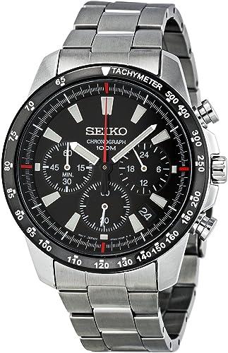 a basso prezzo 3753d db63b Amazon.com: Seiko SSB031 Men's Chronograph Stainless Steel Case ...
