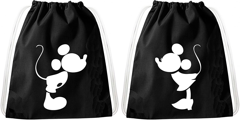 Bag:Bad Boy Bad Girl Set de bolsas de gimnasia para parejas y amigos//20 dise/ños//TeeKiki Gym Bag con cotizaci/ón//bolsa negro//mochila//bolsa de yute//bolsa de deporte//Hipster