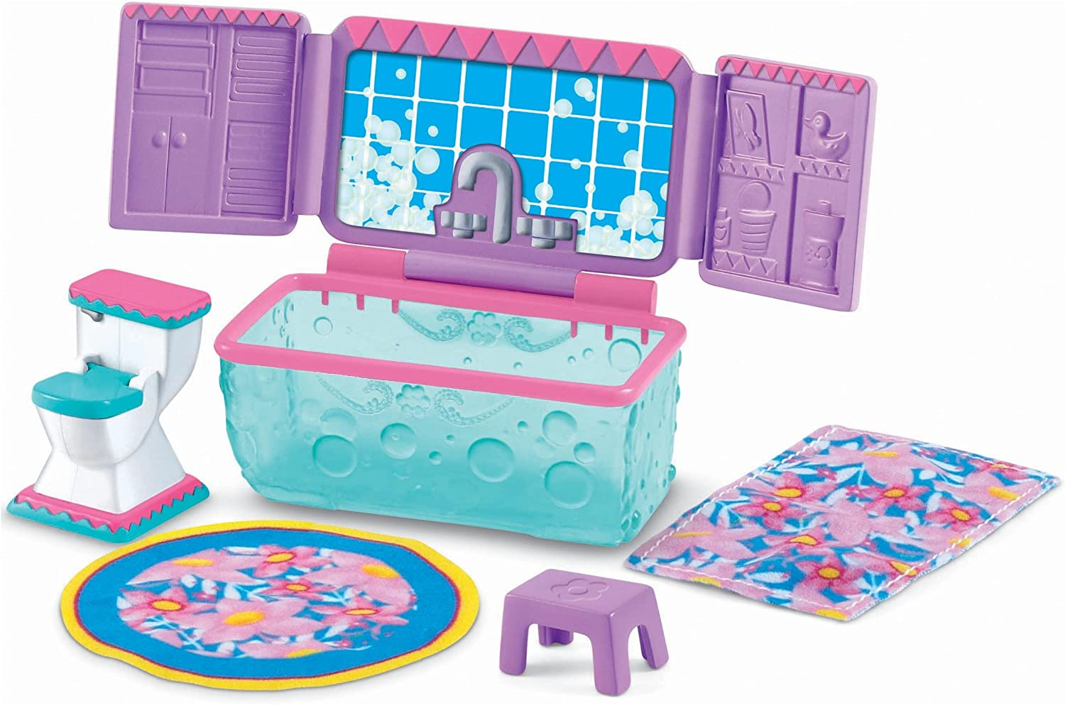 Fisher-Price Dora the Explorer Dollhouse Bathroom Furniture