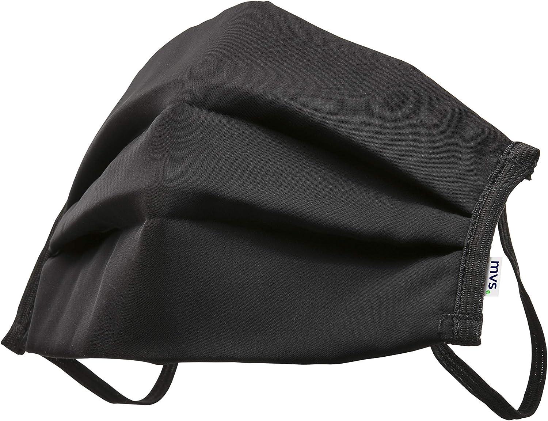 Mvs Mash0010 Wiederverwendbare Maske Kunstfaser 100 Größe M Schwarz M Auto