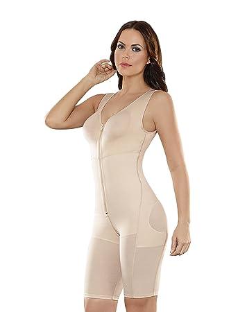dcb04a7839f Amazon.com  ShapEager Faja Colombiana Reductora Full Body Powernet Bra -  Shapewear For Women Nude  Clothing