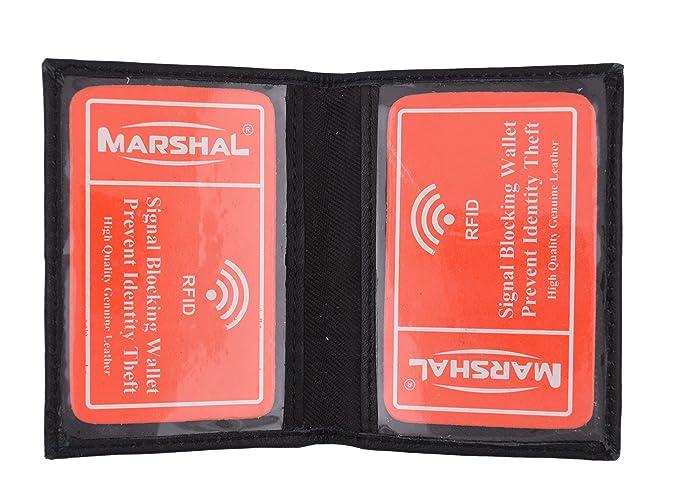 0fcc733c650ec RFID Blocking Slim Thin Premium Soft Leather Credit Card ID Mini Wallet  Holder Bifold Driver s License