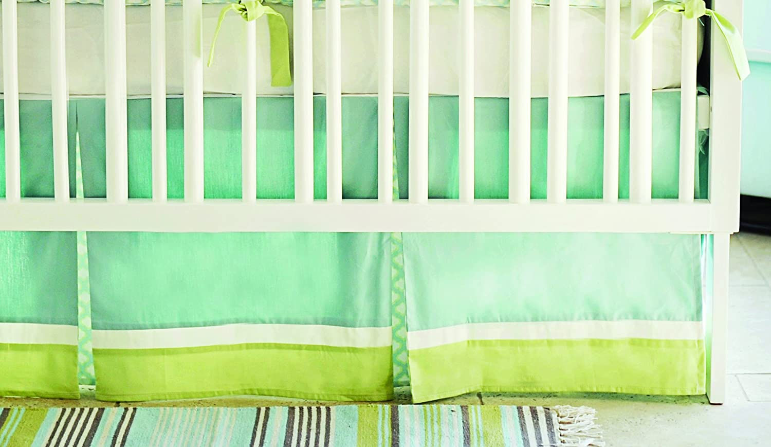 New Arrivals Sprout Crib 2 Piece Crib Bedding Set, Green by New Arrivals   B009YEKZGC