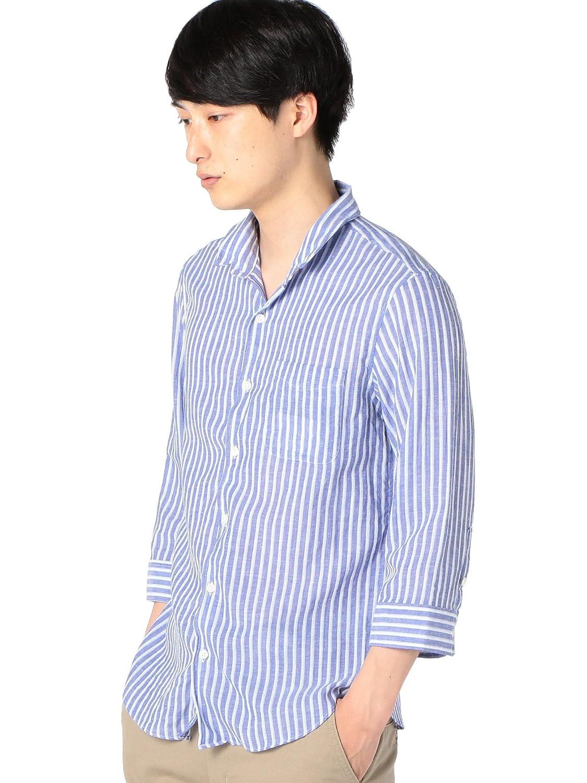 (シップス) SHIPS ワイシャツ SU: 【COOL MAX】リネンシャツ ワイヤー 7スリーブ 111310192 B07CZSFQH6 日本 XL-(日本サイズXL相当)|Blue2 Blue2 日本 XL-(日本サイズXL相当)