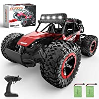 BEZGAR Remote Control Car, 1:14 Aluminium Alloy Off Road Large Size Kids High Speed...