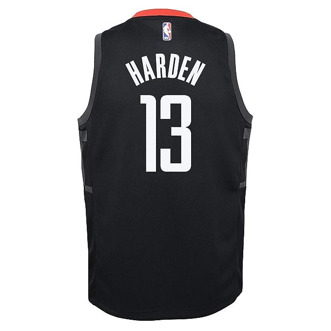 Nike NBA Houston Rockets James Harden 13 2017 2018 Statement Edition Jersey Official, Camiseta de Niño: Amazon.es: Ropa y accesorios
