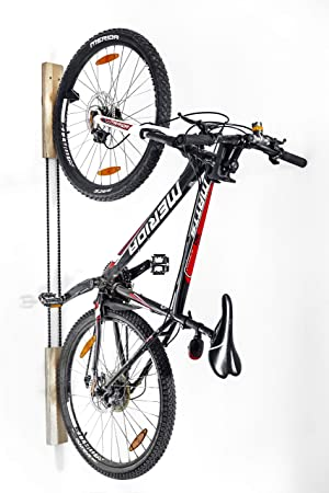 Wokana Soporte de Pared de Madera para Bicicleta - Elegante ...
