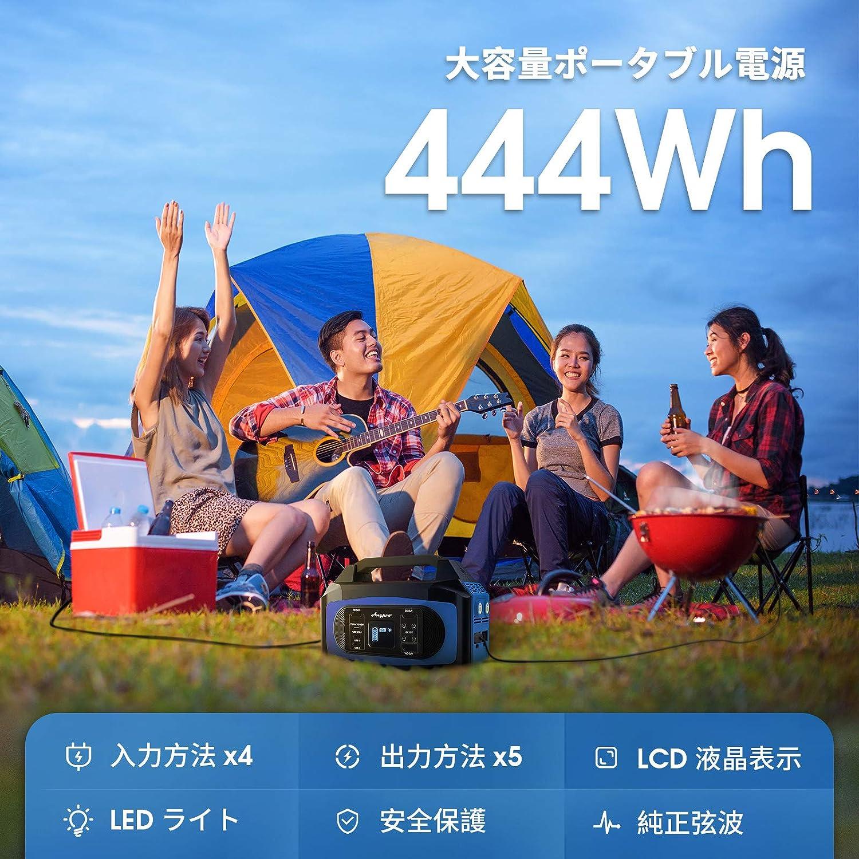 AC100Vコンセントで炊飯器や天気毛布も使える「Anypro ポータブル電源 」がセール/クーポンで約1.2万円も安くなってる