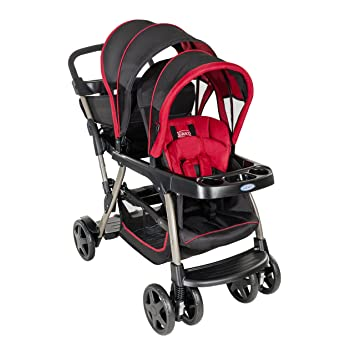 Graco Ready2Grow Double Pushchair Chilli Sport