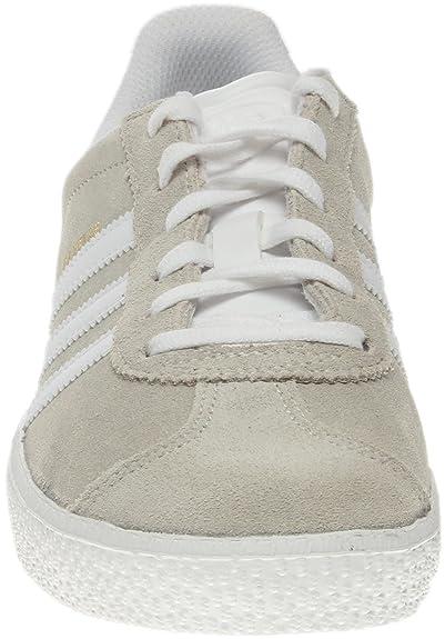 the latest 8f5de d0184 adidas Gazelle 2 Big Kids Style BA9318-OffWht Size 4 Amazon.fr  Chaussures et Sacs