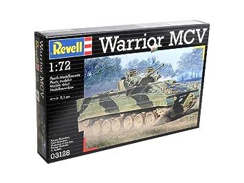 Revell 03128 - Maqueta del tanque Warrior MCV (escala 1:72 ...