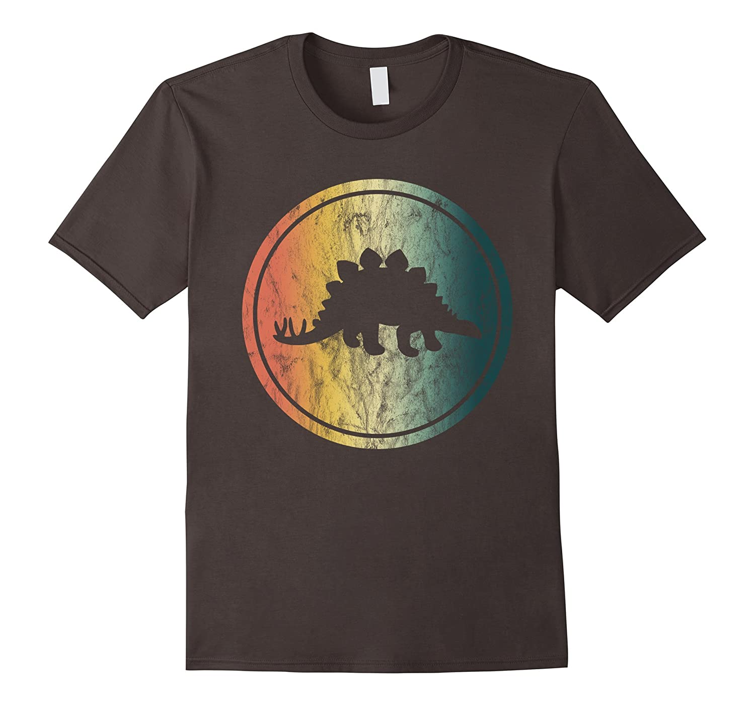 STEGOSAURUS DINOSAUR T-Shirt Distressed Vintage Retro Design-ANZ