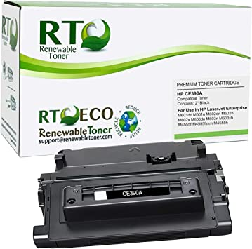 90A Printer Cartridge 3-Pack Compatible High Capacity Laserjet M4555f M4555fskm MFP Laser Printer Toner Cartridge Replacement for HP CE390A M4555h Black