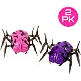 Laser Tag Bug Spider Training Bot Set – USA Toyz 2 Pc Laser Tag Target Set w/ Laser Tag Spider Moving Robot + Charging Cable for Laser Tag Robot Bug