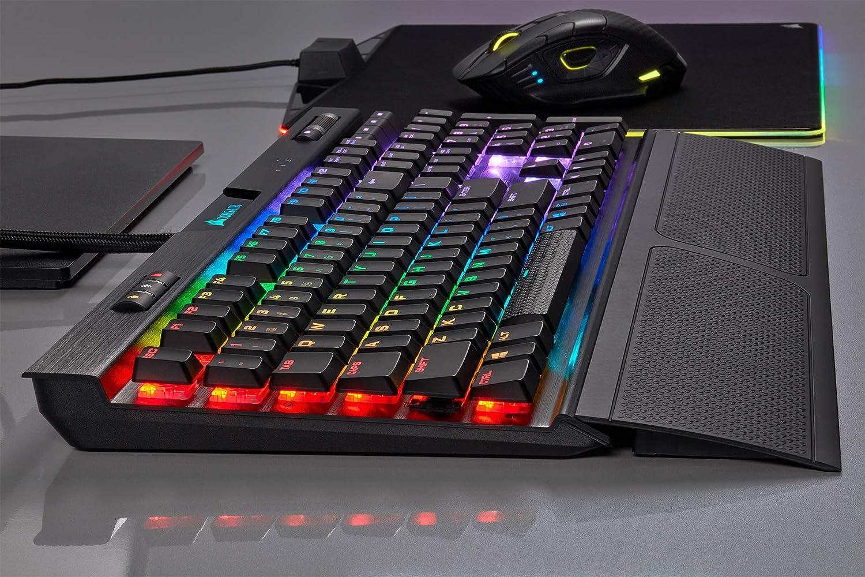 CORSAIR - Corsair K70 MK.2 Low Profile Gaming Tastatur, MX-Speed, RGB LED - CH-9109018-DE
