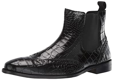5b93ecceb Amazon.com  STACY ADAMS Men s Frontera Croc Wingtip Chelsea Ankle ...
