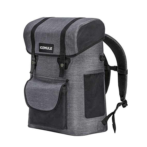 The IceMule Urbano Insulated Backpack Portable Cooler Bag travel product recommended by Melissa Beck on Lifney.