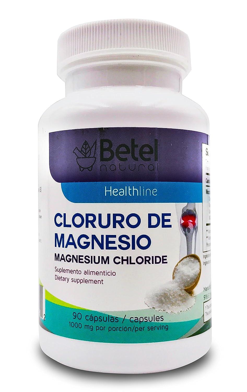 Magnesium Chloride Plus 90 Capsules - Cloruro De Magnesio Plus 90 Capsulas